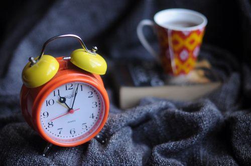 alarm clock blur clock