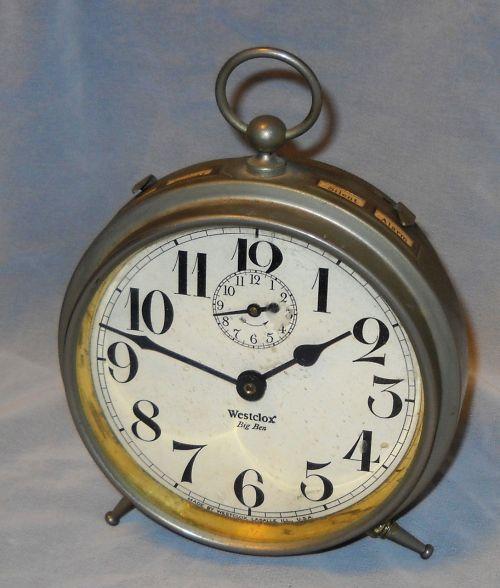 alarm clock big ben vintage
