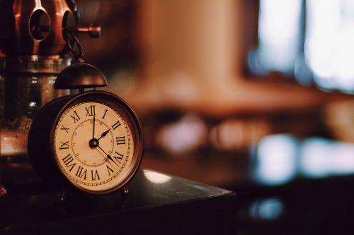 alarm clock retro literature and art