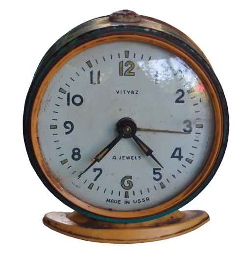 alarm clock russian old