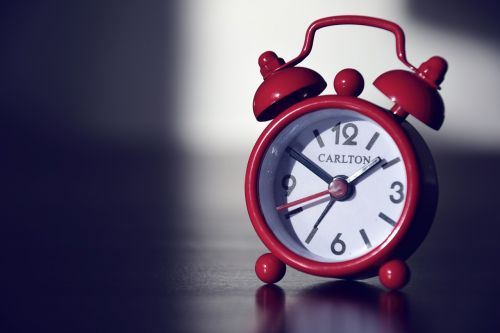 alarm clock clock time