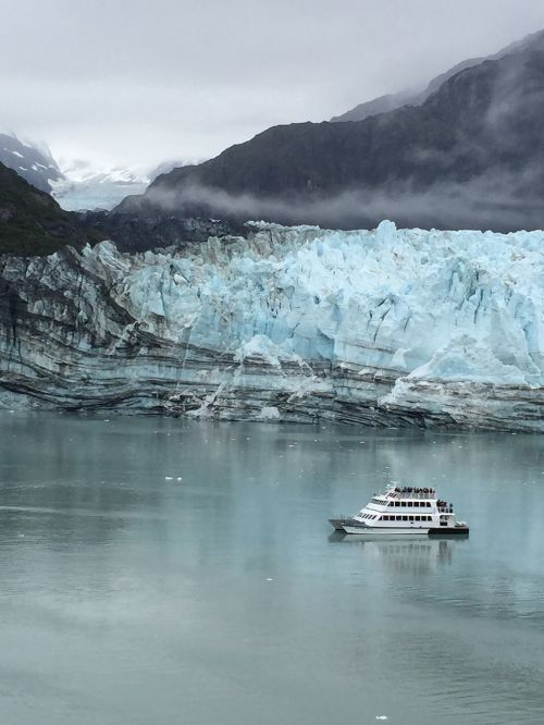 alaska glacier travel