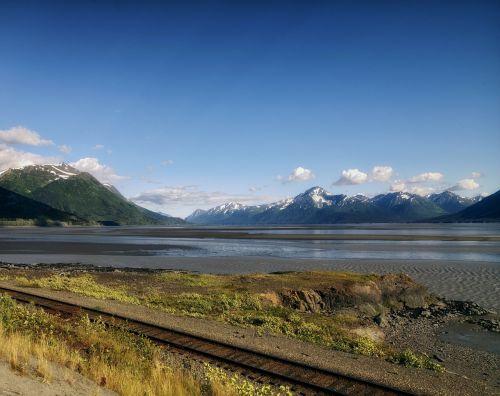 alaska landscape scenic