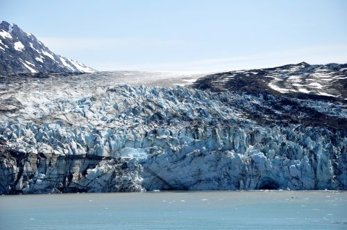 alaska glacier nature
