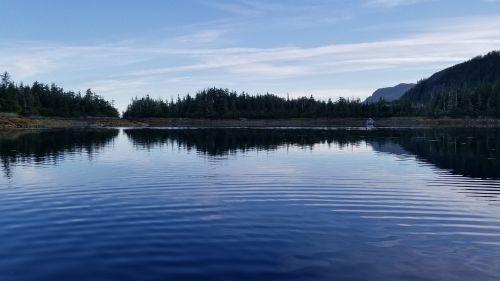 alaska ocean scenery
