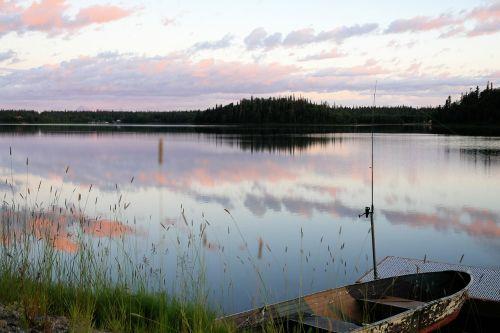 alaska lake nature