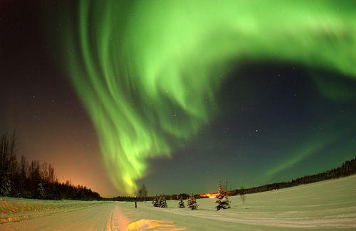 alaska wilderness sky