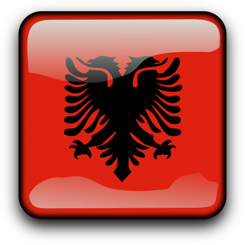 albania flag country