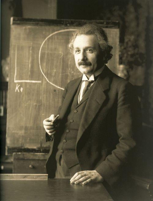 albert einstein 1921 portrait