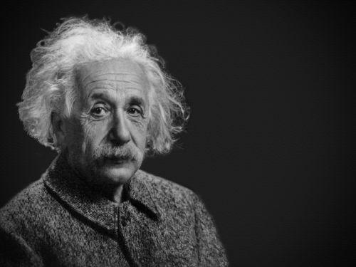 albert einstein portrait theoretician physician