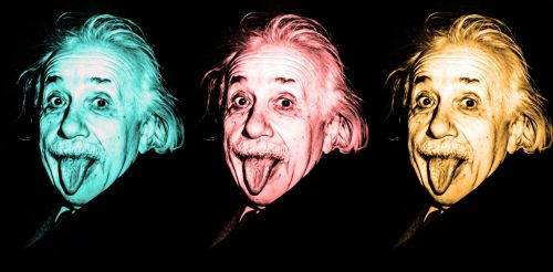 Albert Einstein, Oil Painting