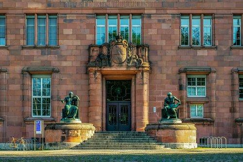 albert-ludwigs-university of  freiburg  main entrance
