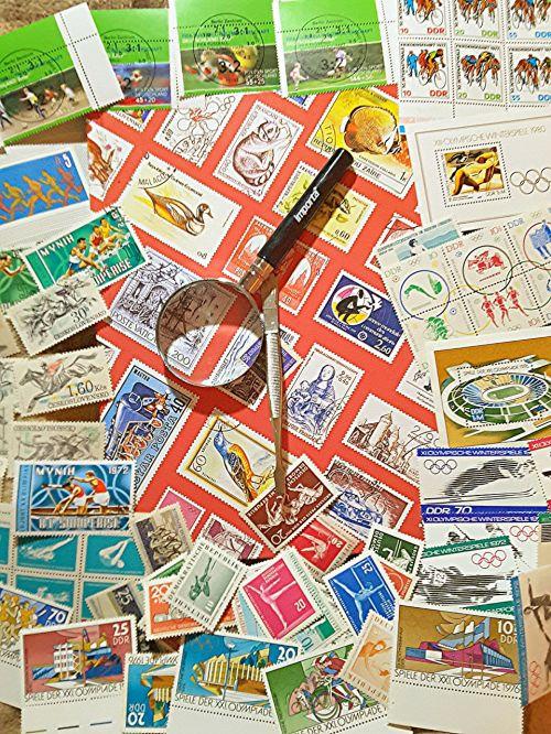 album stamp collector