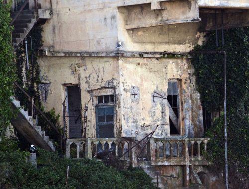 Alcatraz Grunge Building