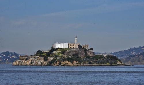 Alcatraz Island Backside