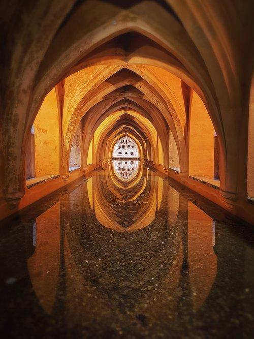 alcazar  baths  rainwater