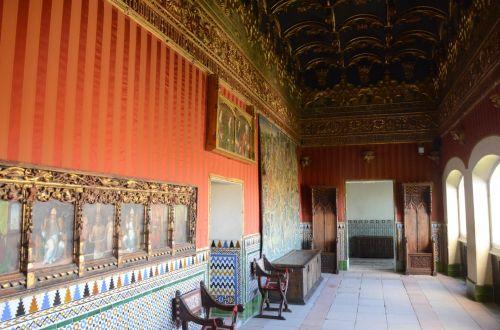 Alcazar De Segovia Interior