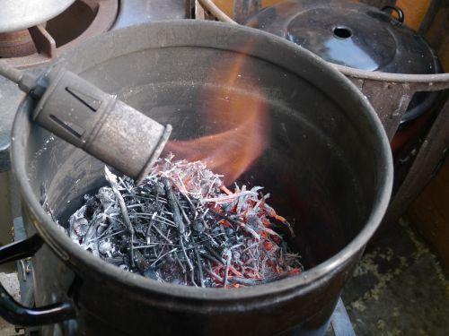 alchemy calcination burn