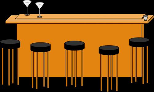 alcohol bar barstool