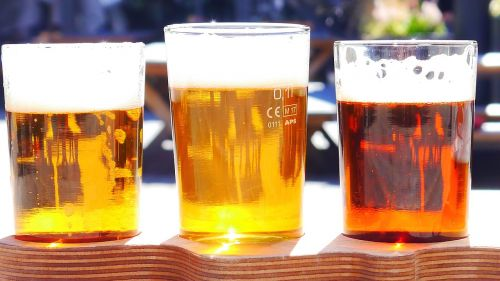 alcohol beer different types of