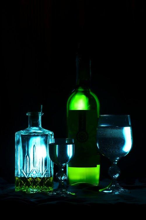 alcohol  bottle  wine