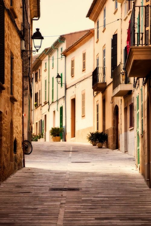 alcudia spain town