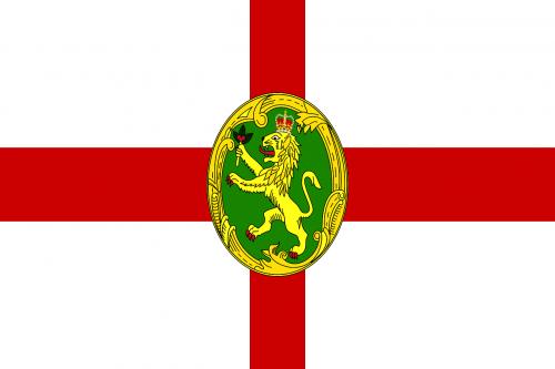 alderney flag national flag
