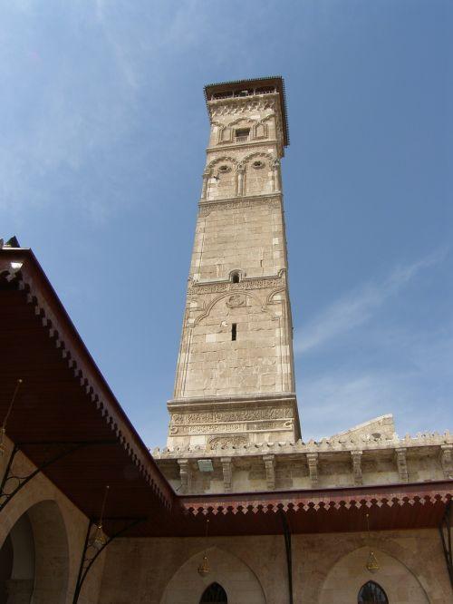 aleppo syria mosque