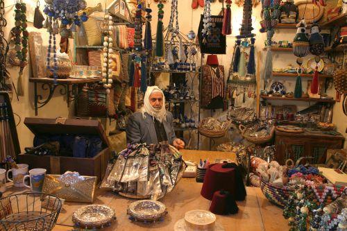 Aleppo, City, Syria, Bazar