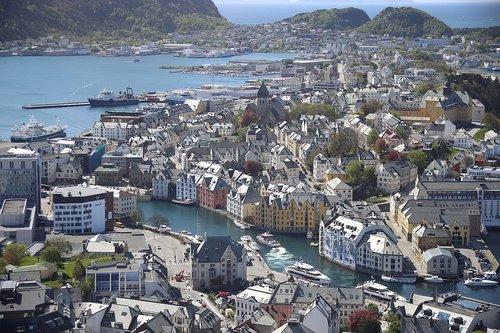ålesund norway  norway  architecture