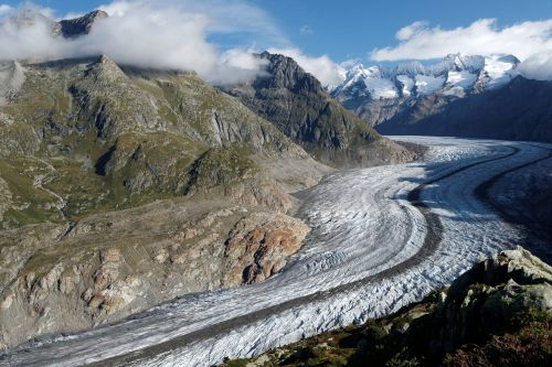 aletsch glacier switzerland valais