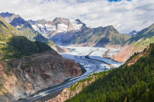 aletsch glacier aletsch glacier
