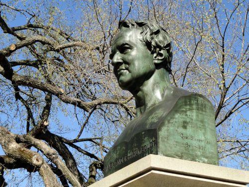 alexander humboldt monument central park