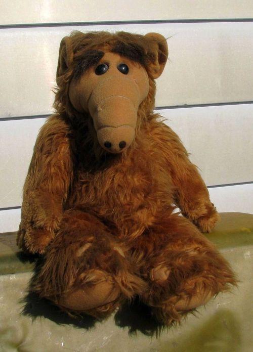alf puppet stuffed toy