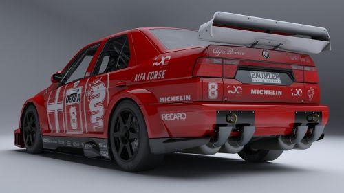 alfa romeo 155 dtm race car dtm championship