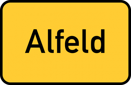 alfeld lower saxony town sign