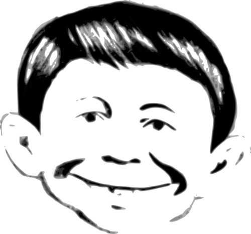 alfred neuman mad magazine face