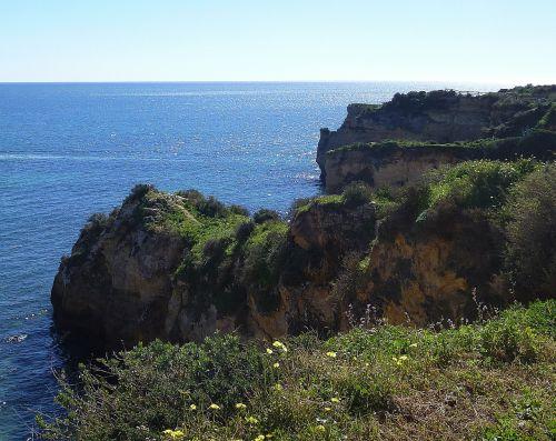 algarve portugal rock