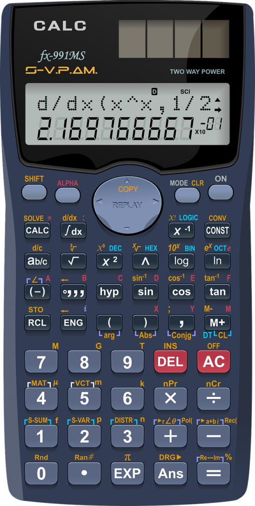 algebra arithmetic calculator