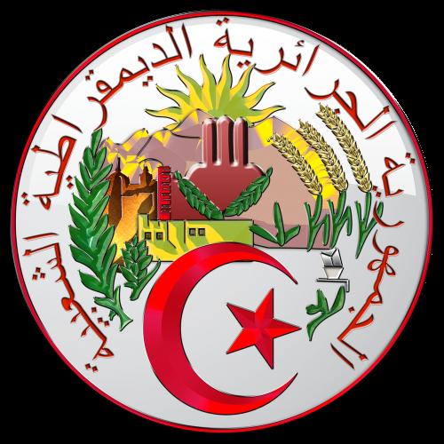 algeria coat of arms heraldry