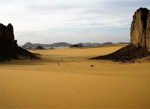 algeria desert sahara