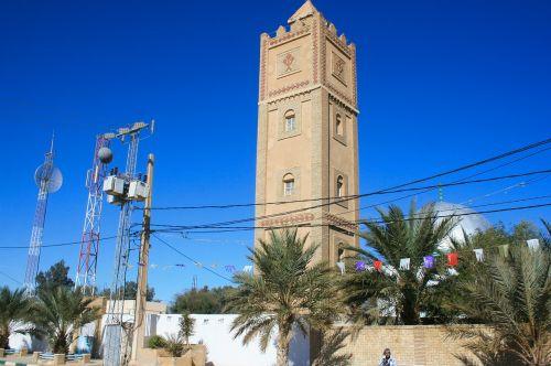 algeria mosque minaret
