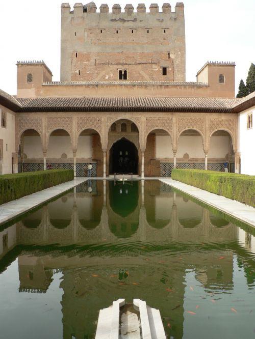 alhambra monument granada