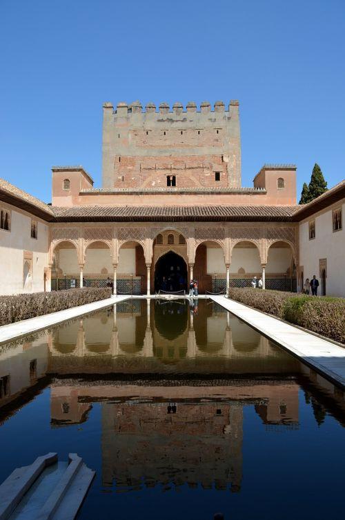 alhambra mirror reflexes