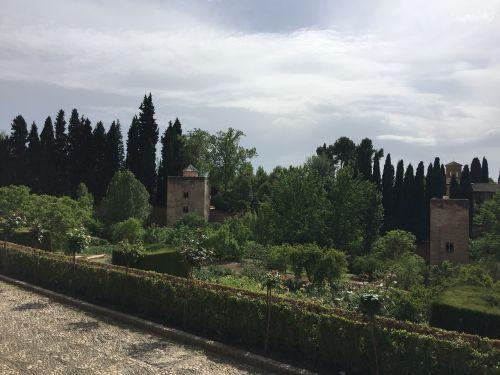alhambra tower of the princess granada