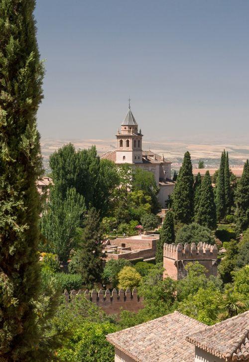 alhambra church granada