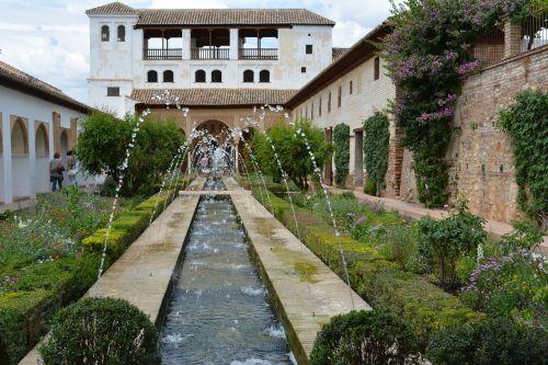 alhambra andalusia landscape
