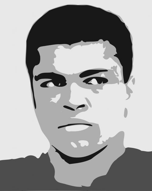 ali,boksininkas,boksas,žinomas,didžiausias,piktograma,iconic,legenda,mohammad ali,žmonės,Sportas,sportininkas,sportininkai,nemokama vektorinė grafika