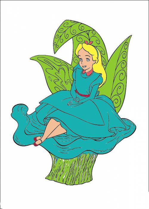 Alice Cartoon