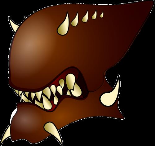 alien brown evil